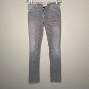Current/Elliott corduroy skinny jeans